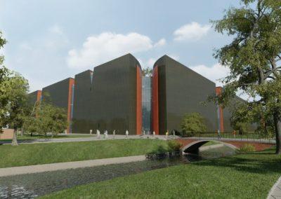 Музей ІІ Світової війни, м. Гданськ. Польща. Конкурсний проєкт