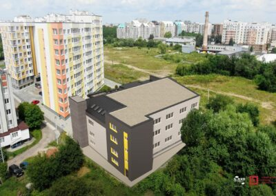 Офісний центр на вул. К.Мікльоша, Львів