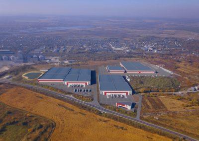 Строительство производственно-складского комплекса для нужд транспортных предприятий в г. Пустомыты Львовской области