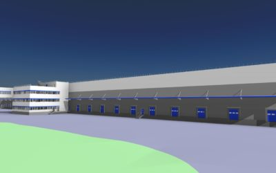EXPANSION AND INCREASING THE CAPACITY OF THE WAREHOUSE COMPLEX IN KYIV REGION