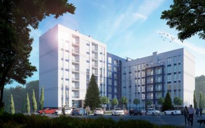 "COMFORTBUD Design Institute continues to supervise the construction of a residential complex ""Halytska Brama"" on Halytska street in Davydiv village, Pustomytiv district of Lviv region"