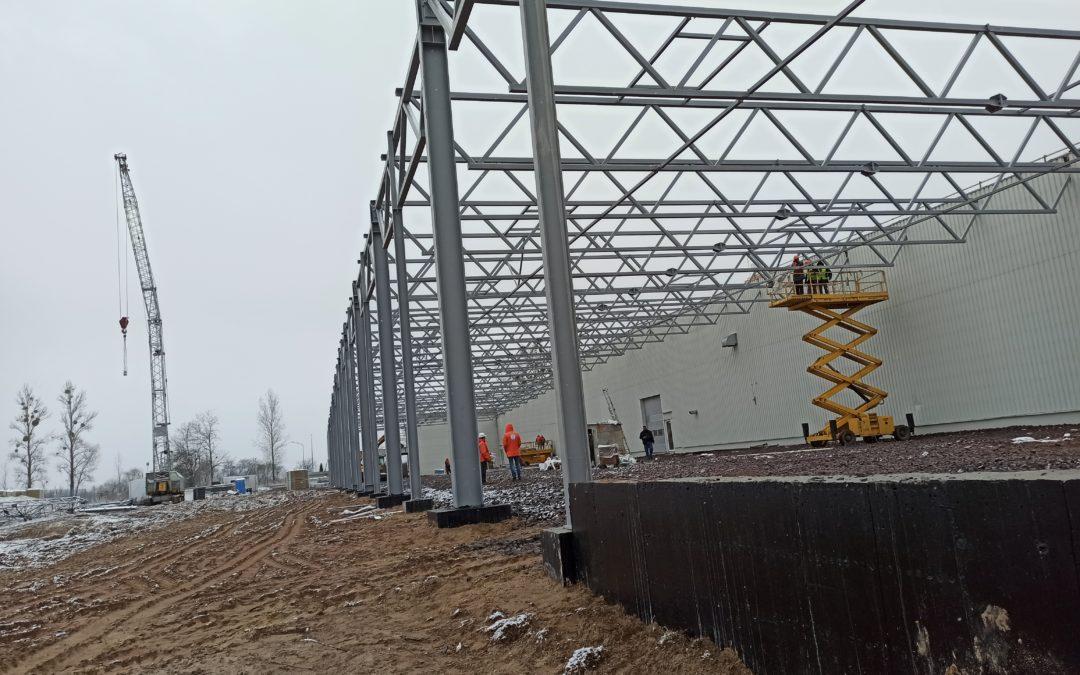 Розширення і збільшення потужності складського комплексу на Київщині