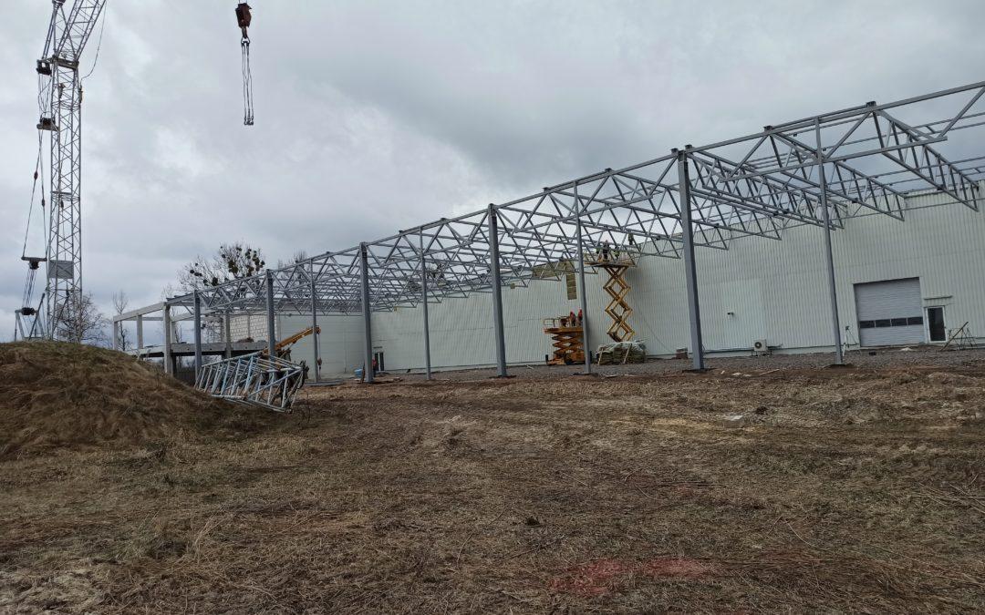 Триває реконструкція заводу абразивних матеріалів