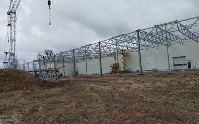 Продолжается реконструкция завода абразивных материалов